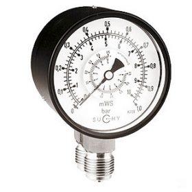 Đồng hồ chênh áp Suchy MDR-20