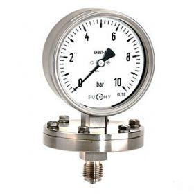 Đồng hồ đo áp suất Suchy loại có màng MP-30