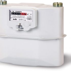 Thiết bị đo khí gas có màng Itron RF1