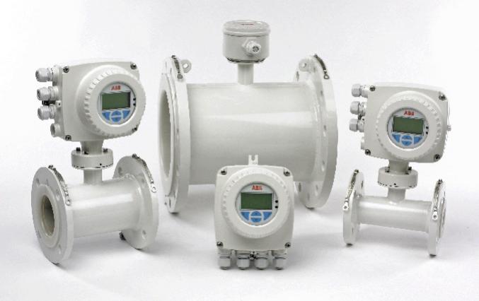 Thiết Bị Đo Lưu Lượng Điện Từ WaterMaster – ABB