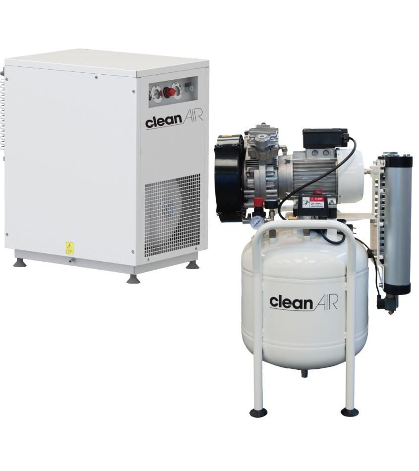 Máy nén khí sạch không dầu ALUP Clean air